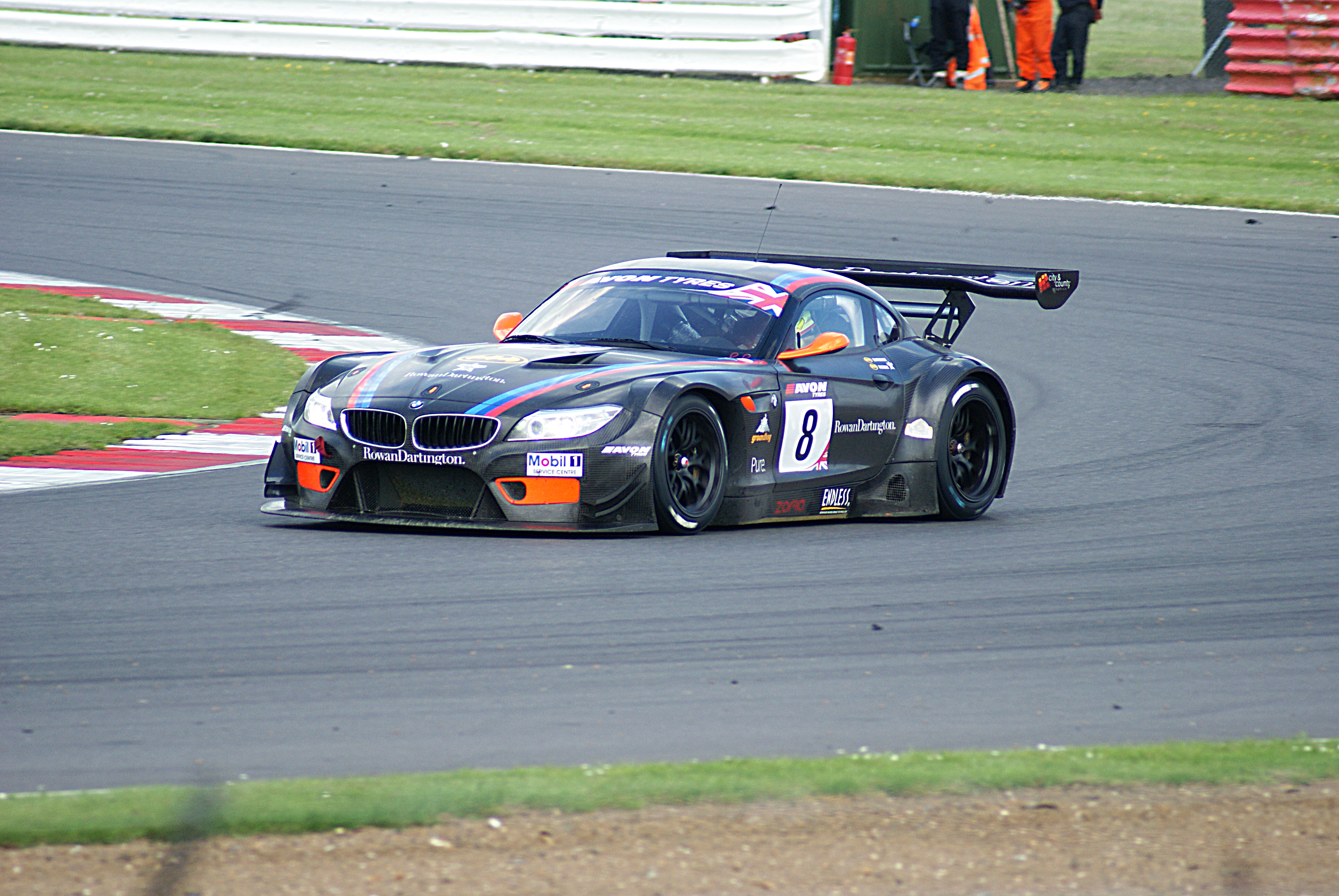 British Gt Silverstone 2014 Simon Andrew Designs