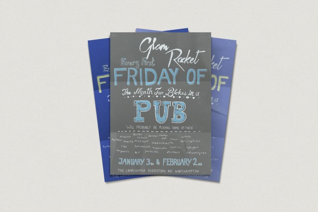 Screen printed posters
