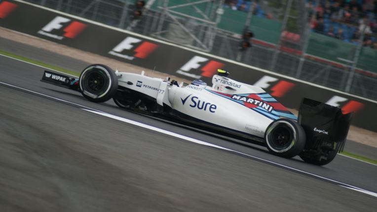 Bottas during F1 practice